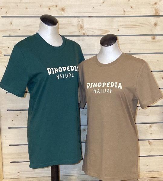 Tee-shirt Adulte Mixte Dinopedia-Nature