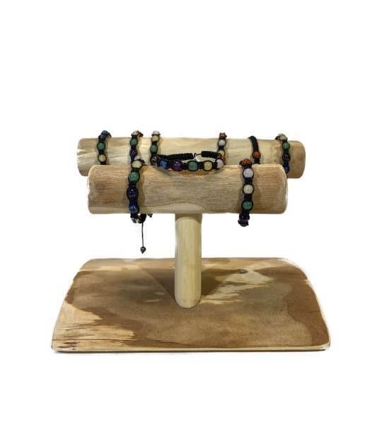 Bracelet Chakras enlacé