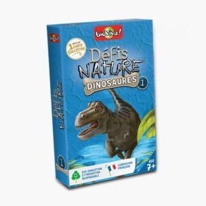 Défis Nature – Dinosaures 1 Bleu